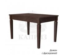 Стол из массива дерева Дижон c фрезировкой