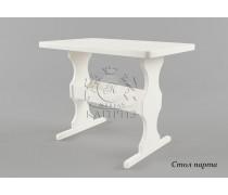 Стол из массива дерева Парта
