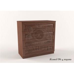 Комод из массива дерева №1-4 ящика