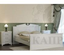 Кровать из массива сосны Афина