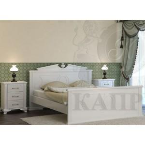 Кровать из массива бука Афина
