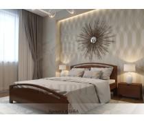 Кровать из массива сосны Альба