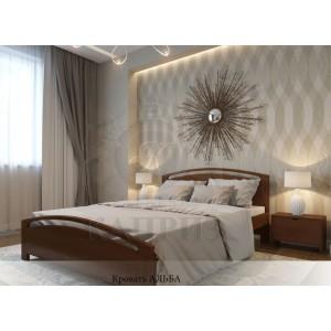 Кровать из массива бука Альба