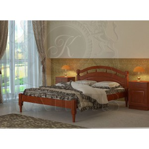 Кровать из массива бука Джулия
