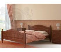 Кровать из массива сосны Филенка-1