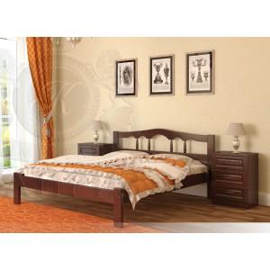 Кровать из массива дуба Гармония