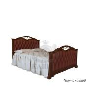 Кровать из массива бука Генуя