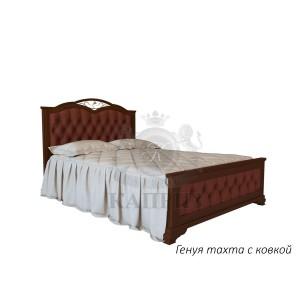 Кровать из массива дуба Генуя-тахта