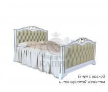 Кровать из массива сосны Генуя