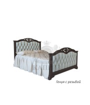 Кровать из массива дуба Генуя