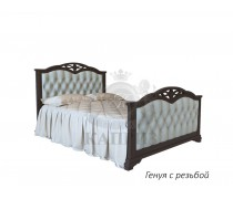 Кровать из массива березы Генуя