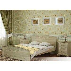 Кровать из массива бука Гера
