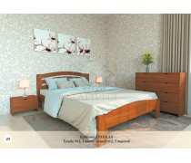 Кровать из массива бука Гранада