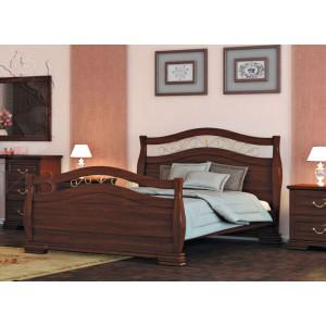 Кровать из массива дуба Каприз