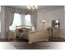 Кровать из массива березы Каприз-2