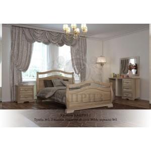Кровать из массива бука Каприз-2