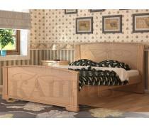 Кровать из массива сосны Магнолия