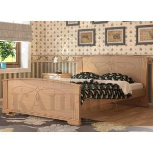 Кровать из массива бука Магнолия