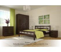 Кровать из массива бука Сатори