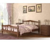 Кровать из массива бука Точеная