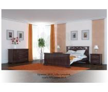 Кровать из массива сосны Версаль резная