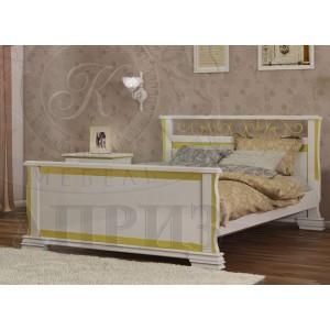 Кровать из массива сосны Версаль
