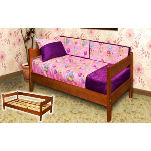 Кровать из массива березы Детская