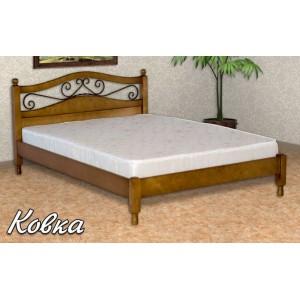 Кровать из массива березы Ковка