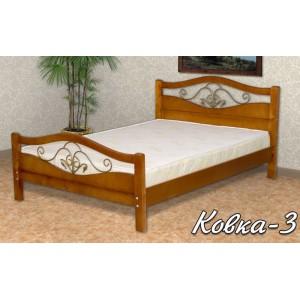 Кровать из массива березы Ковка-3 120х190 В НАЛИЧИИ! СКИДКА!