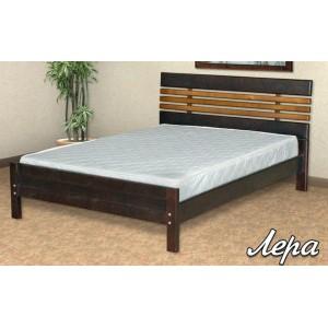 Кровать из массива березы Лера