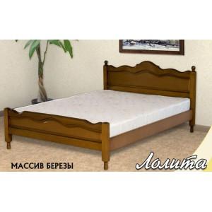 Кровать из массива березы Лолита