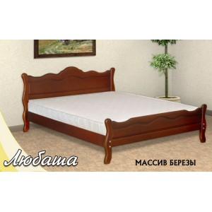 Кровать из массива березы Любаша