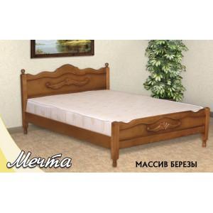 Кровать из массива березы Мечта