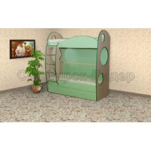 Кровать детская двухъярусная Мишутка-2