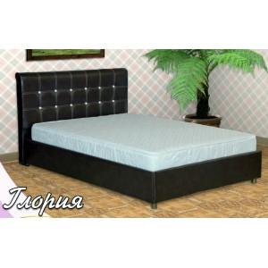 Кровать из экокожи Глория