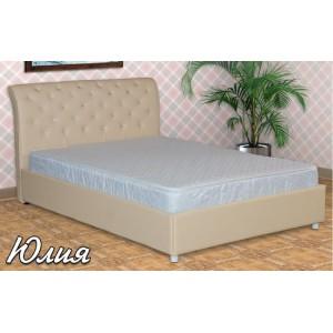 Кровать из экокожи Юлия