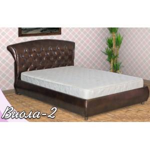 Кровать из экокожи Виолла-2
